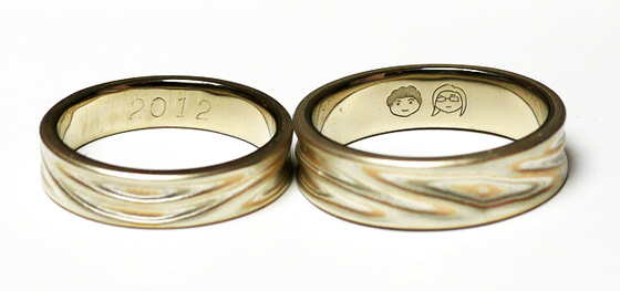 Beth's and my wedding rings by likeablerodent, Used under a Creative Commons License (http://creativecommons.org/licenses/by/2.0/legalcode)
