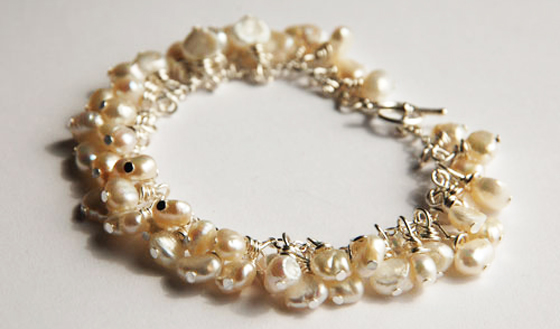 freshwater pearl bracelet by Cheryl Brind, Used under a Creative Commons License (http://creativecommons.org/licenses/by/2.0/legalcode)