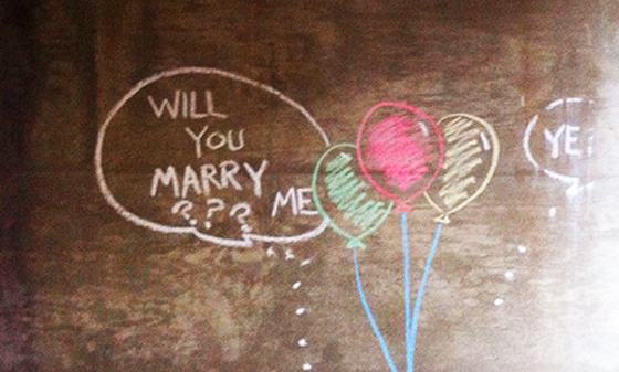 will you marry me? by justgrimes, used under a Creative Commons License (http://creativecommons.org/licenses/by/2.0/legalcode)