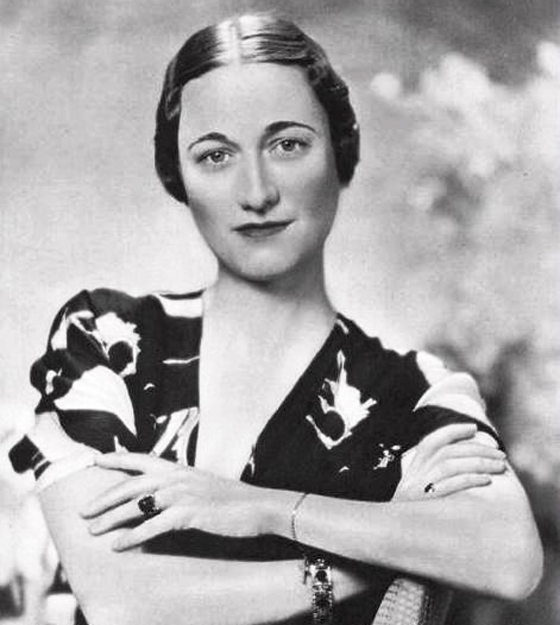 Wallis Simpson in 1936 by Dr Ghulam Nabi Kazi, Used under a Creative Commons License (http://creativecommons.org/licenses/by/2.0/legalcode)