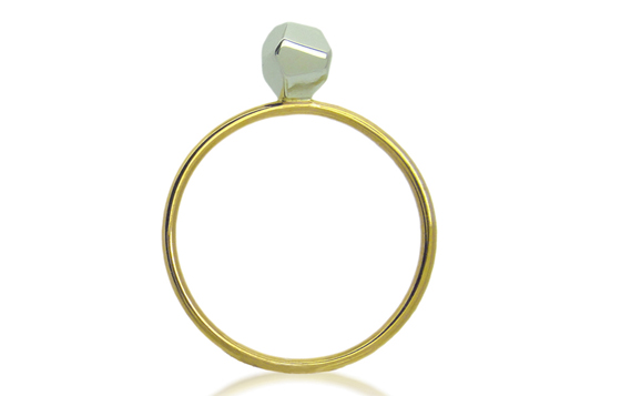 Fairtrade and Fairmined ring by ethical jewellery designer Amanda Li Hope