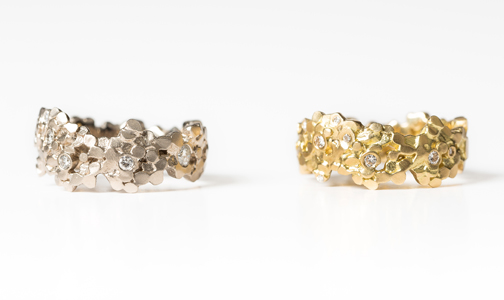 Wide Crown Rings by EC One participant Mirri Damer