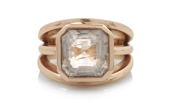 Rose gold ring by 'Origins Passion and Beliefs' participant Sophie Breitmeyer