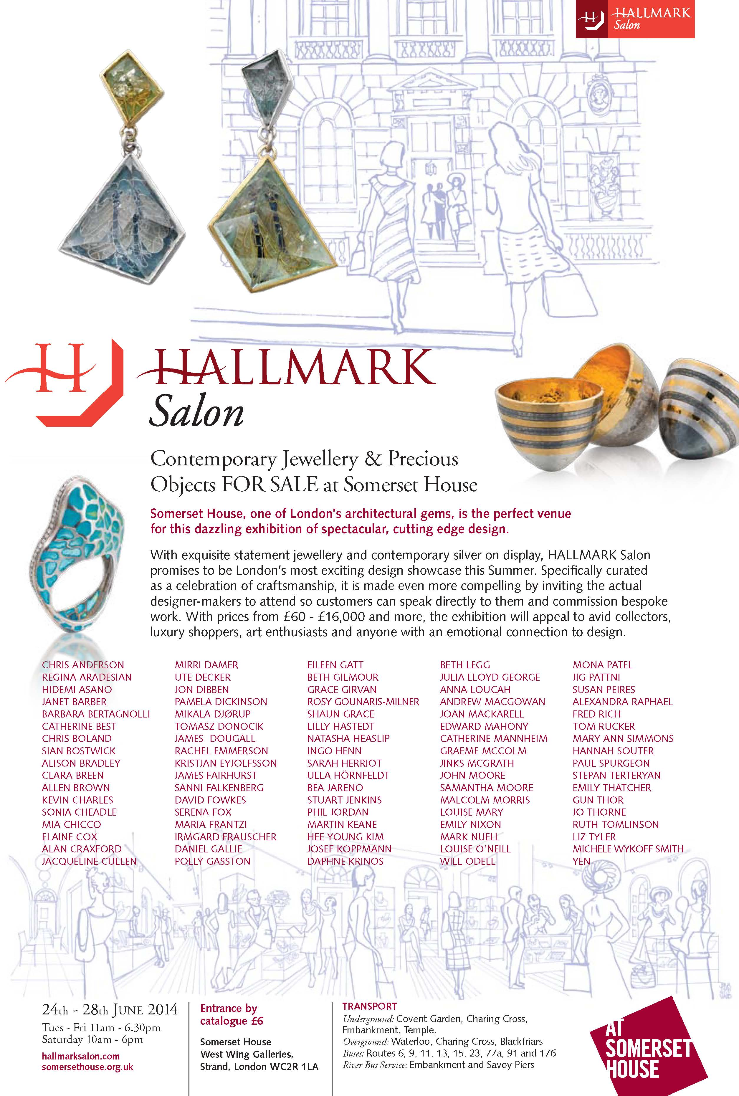 HALLMARK Salon 2014 email flyer
