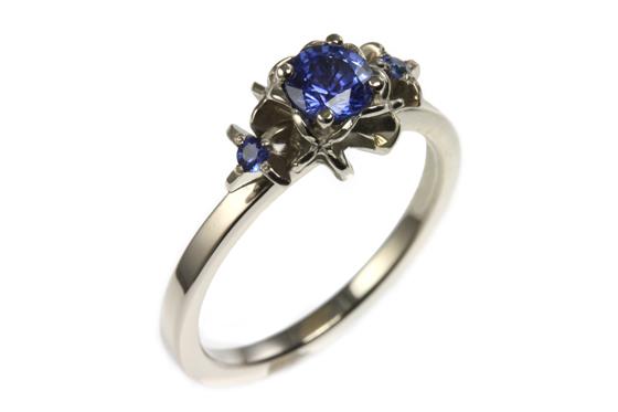 18 ct Sapphire Ring by Jana Reinhardt