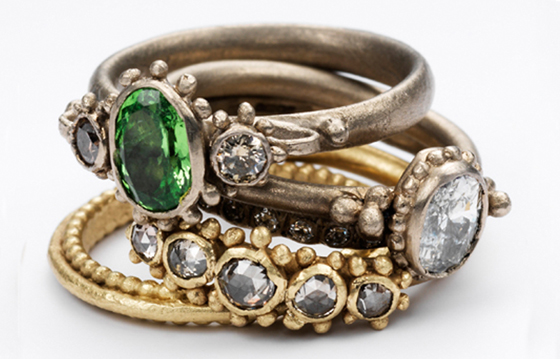 Rings by Ruth Tomlinson, New Member of F&L Designer Guides