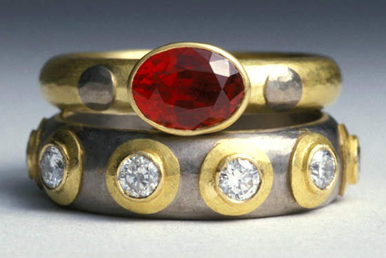 Ruby Engagement Ring by  Catherine Mannheim