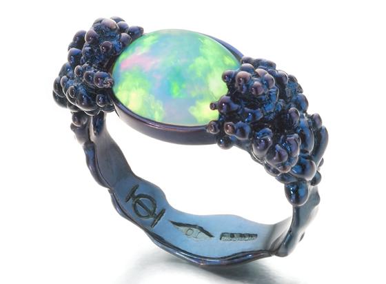 Opal Ring by Ornella Iannuzzi