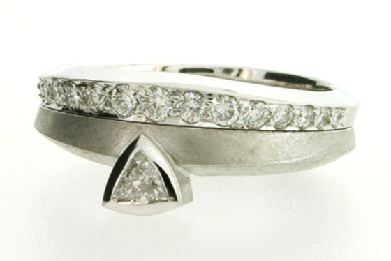 Palladium Ring by Robert Feather