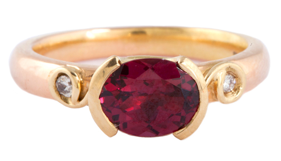 Ruby Ring by Susan Peires